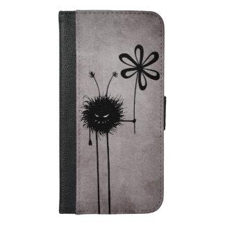 Evil Flower Bug Vintage iPhone 6/6s Plus Wallet Case