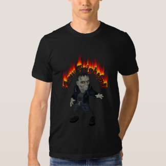 Evil Frankenstein How Frightful Halloween T Shirts