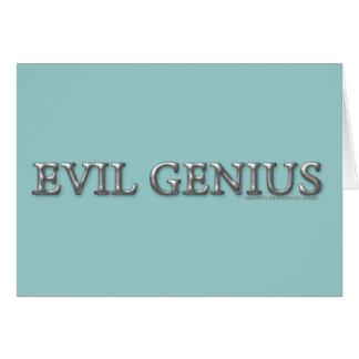 Evil Genius Card