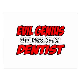 Evil Genius...Dentist Postcards
