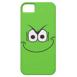 Evil Genius Grin Cartoon Smiley Face iPhone 5 Case