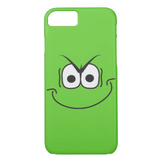 Evil Genius Grin Cartoon Smiley Face iPhone 7 Case