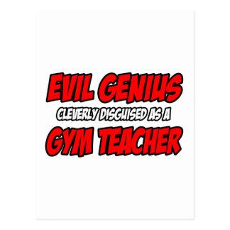 Evil Genius...Gym Teacher Post Cards