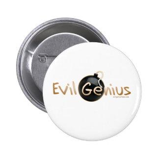 Evil Genius Logo 6 Cm Round Badge