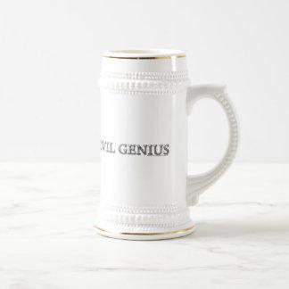 Evil Genius Beer Steins