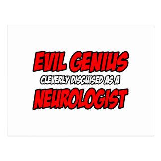 Evil Genius...Neurologist Postcards