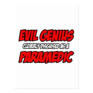 Evil Genius...Paramedic Post Cards