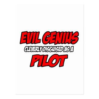Evil Genius...Pilot Postcard