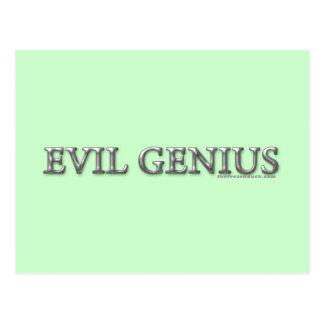 Evil Genius Postcards