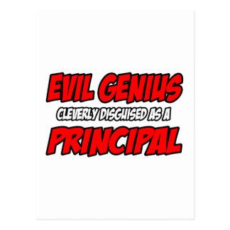 Evil Genius...Principal Postcards