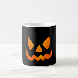 Evil Glowing Jackolantern Face Coffee Mug