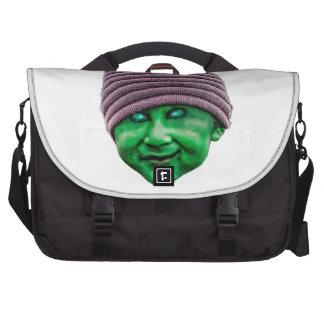 Evil Golbin Laptop Messenger Bag