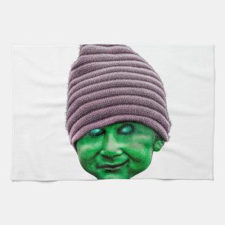 Evil Golbin Tea Towel