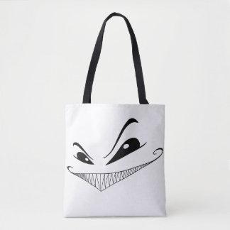 Evil Grin Tote Bag