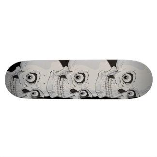 Evil Grinning Gothic Skulls Skateboards