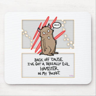 Evil Hamster! Mouspad Mouse Pad