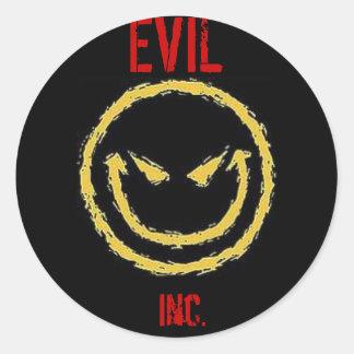 EVIL Inc. Classic Round Sticker