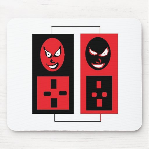 evil ipods mouse pad