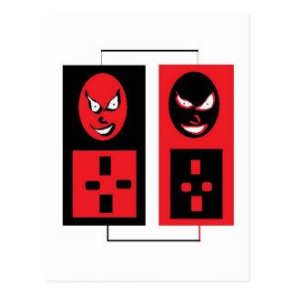 evil ipods postcard