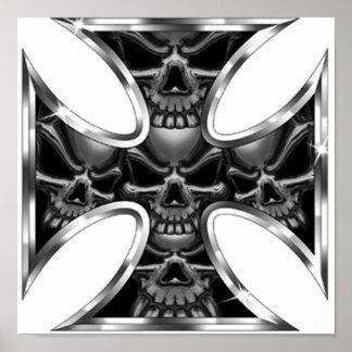 Evil Iron Cross Print