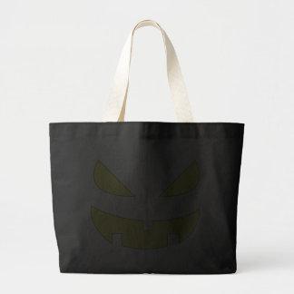 Evil Jack-O-Lantern Bag