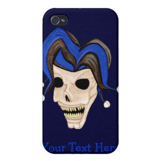 Evil Jester Skull iPhone 4 Cover