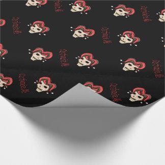 Evil Jester Skull (Red)