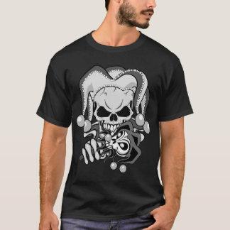Evil Jester Skull T-Shirt