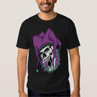 Evil Jester Skull Tee Shirt