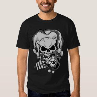 Evil Jester Skull Tshirt
