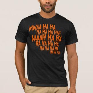 Evil Laugh Halloween T-shirt