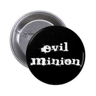evil minion pinback button