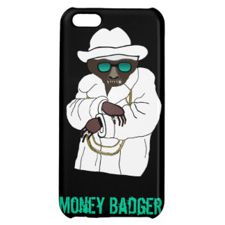 Evil Money Badger on iPhone 5 iPhone 5C Cover
