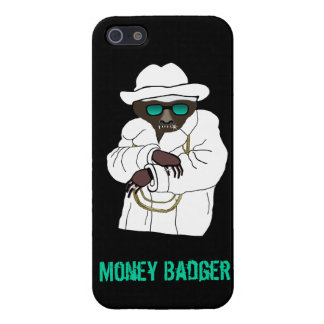 Evil Money Badger on iPhone 5 Case For The iPhone 5