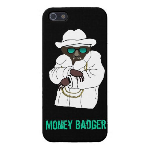 Evil Money Badger on iPhone 5 Cover For iPhone 5