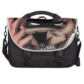Evil Monster Face Commuter Bag