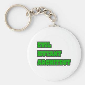 Evil Mutant Architect Key Chain