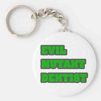 Evil Mutant Dentist Key Chains