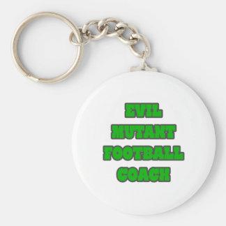 Evil Mutant Football Coach Key Chain