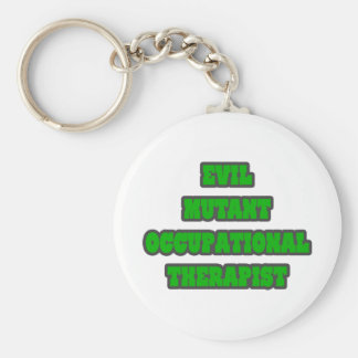 Evil Mutant Occupational Therapist Keychains
