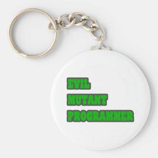 Evil Mutant Programmer Keychain