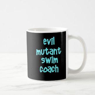 Evil Mutant Swim Coach Basic White Mug