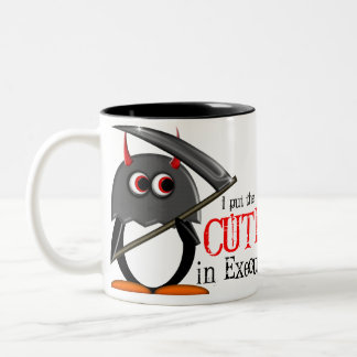Evil Penguin™ Cute Executioner Mug