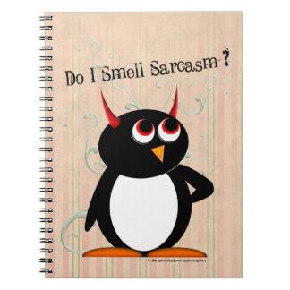 Evil Penguin™ Funny Binder, Back to School Notebooks