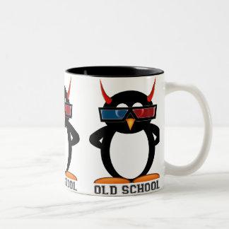 Evil Penguin™ Old School 3D Mug