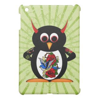 Evil Penguin Tattooed Penguin iPad Mini Cases