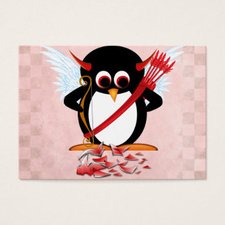 Evil Penguin Valentine cards