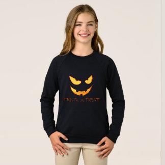 Evil Pumpkin Face Halloween Shirt