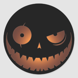 Evil Pumpkin Sticker