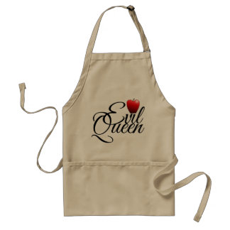 Evil Queen Small Apple Standard Apron